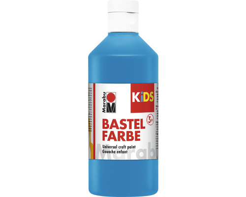 Peinture créative Marabu KiDS bleu azur 095 500ml