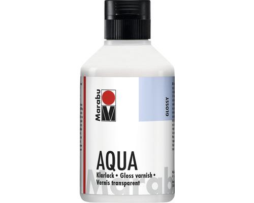 Vernis transparent Marabu à base d''eau 250 ml
