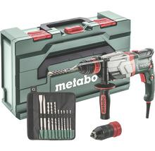 Set de marteau perforateur Metabo UHEV 2860-2 Quick avec mandrin interchangeable et set de foret/burin SDS-plus 10pièces-thumb-0
