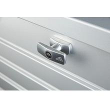 Caisse de rangement Biohort FreizeitBox 130, 134x62x71cm gris quartz-métallique-thumb-1