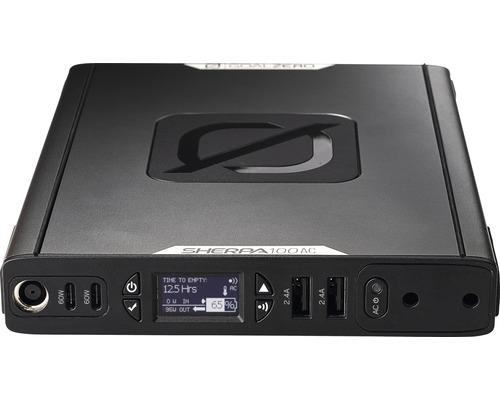 Batterie externe Sherpa 100AC Goal Zero puissance: 94,72 watts heure (25600 mAh) écran OLED