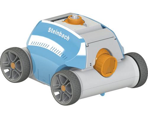 Aspirateur de piscine Steinbach Poolrunner Battery+ avec buses de jets d''eau, batterie et affichage LED
