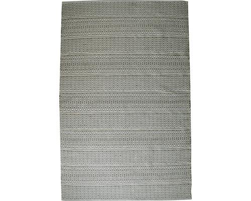 Tapis de chiffon Skandi gris 65x130 cm