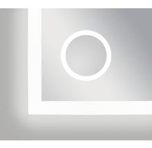 Miroir LED Silver Venus IP 24 (protégé contre les projections d'eau) 140x70 cm-thumb-4