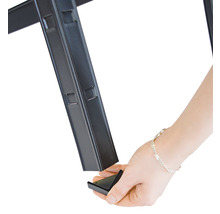 Schwerlast Steckregal Schulte schwarz strukturiert 1800x1000x350 mm 4 Böden Tragkraft 360 kg-thumb-7