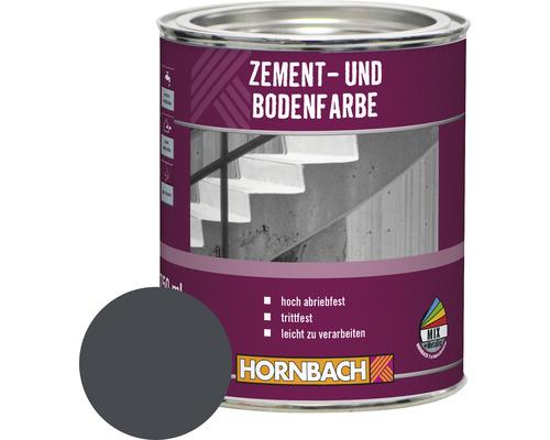 Peinture pour ciment et sol anthracite 750 ml