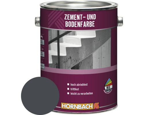 Peinture pour ciment et sol anthracite 2,5 l