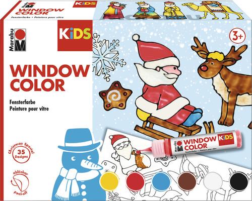 Kit Window Color Xmas Marabu KiDS 6x25ml