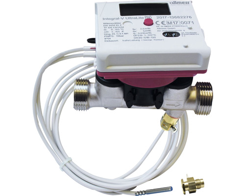 """Compteur compact d''énergie thermique à ultrasons Allmess 1"""" 561823001806HA"""