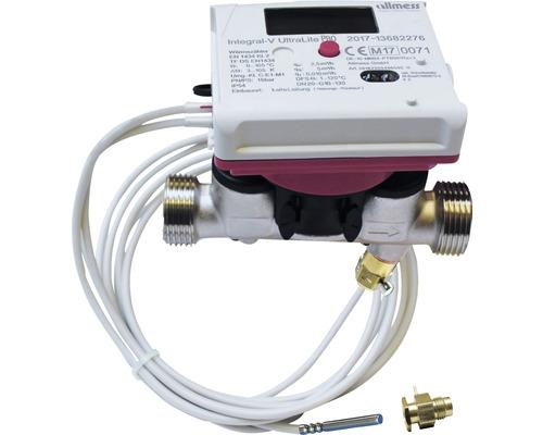 """Compteur compact d''énergie thermique à ultrasons Allmess 3/4"""" 561423001806HA"""