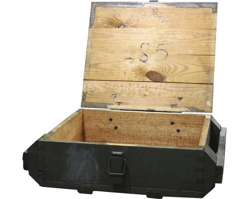 Coffre en bois Vintage 50x35x15 cm