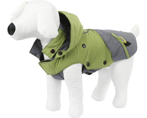 Manteau pour chien Outdoor Vancouver taille L 45 cm vert-gris