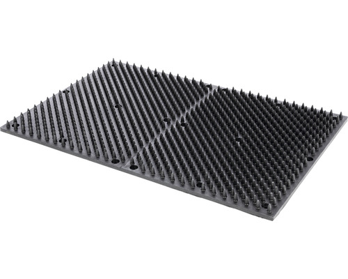 Tapis à gratter 60 x 40 cm noir