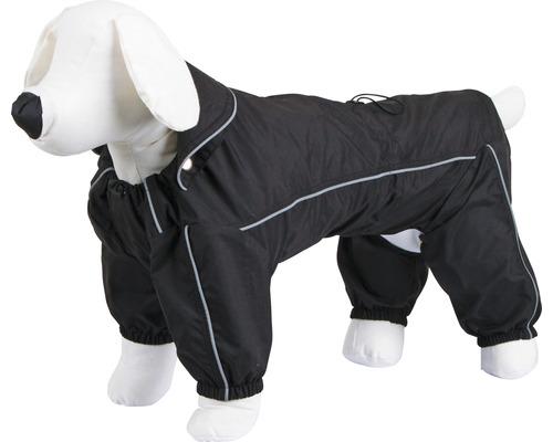 Manteau pour la pluie pour chien Manchester taille XXXL 70 cm noir