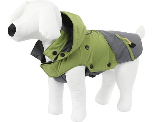Manteau pour chien Outdoor Vancouver taille M 40cm vert-gris