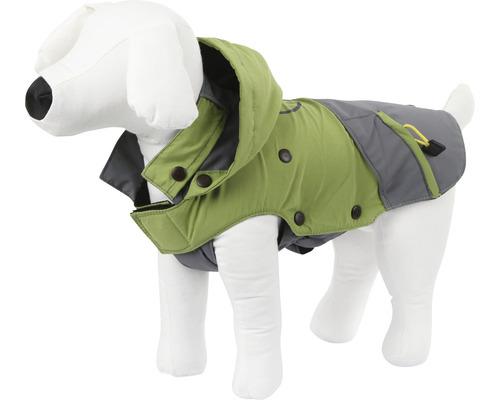 Manteau pour chien Outdoor Vancouver taille XL 50 cm vert-gris