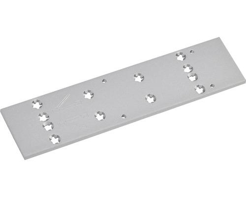Montageplatte Dorma für Türschließer TS 83 silber