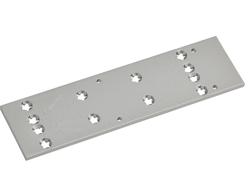 Montageplatte Dorma für Türschließer TS 73 V silber