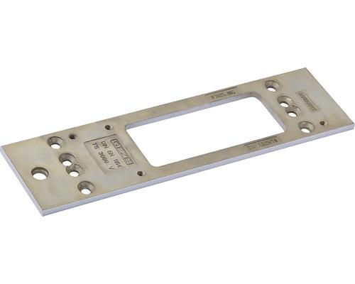 Montageplatte Geze für Türschließer TS 3000 silber