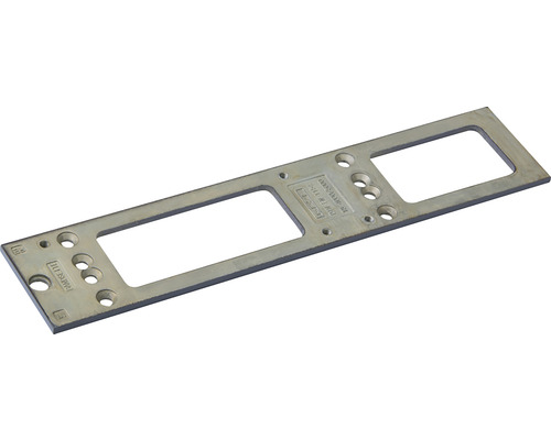 Montageplatte Geze für Türschließer TS 4000/5000 silber