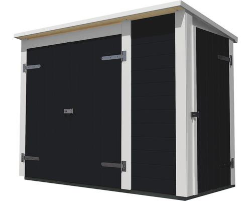Armoire de jardin weka Multibox 367, système de rayonnage compris, 205x84x152cm, anthracite