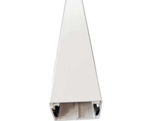 Conduite de câbles Hager LF Tehalit PVC 40x60 mm2,0 m blanc trafic