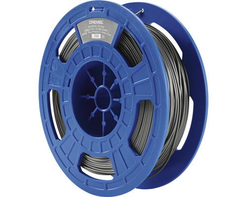 Filament impression 3D DREMEL PLA argent, 750 g (PLA-SIL-01)