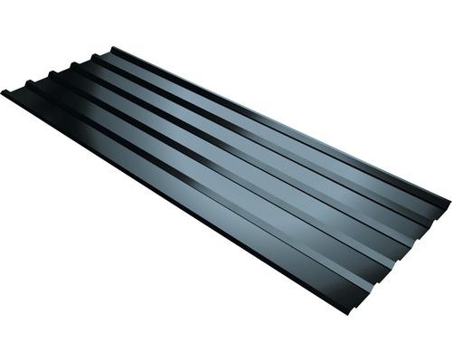 Plaque trapézoïdale PRECIT T35M anthracite grey RAL 7016 1500 x 1095 x 0,5 mm