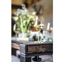 Piètement de table VEBA Old Dutch pieds de table en forme de U bois 220 x 80 cm marron-thumb-8