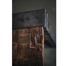 Piètement de table VEBA Old Dutch pieds de table en forme de U bois 220 x 80 cm marron-thumb-4