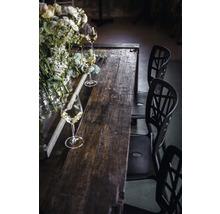 Plateau de table VEBA Old Dutch en bois 220 x 80 cm marron-thumb-1