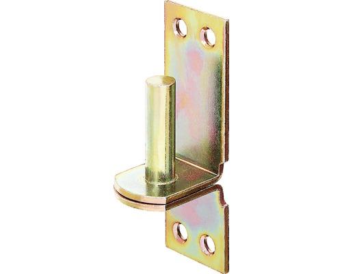 Gond Type D II, 35x105mm, jaune galvanisé