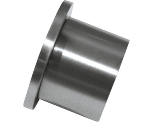 Appui pour mur Windsor aspect acier inoxydable Ø 25mm