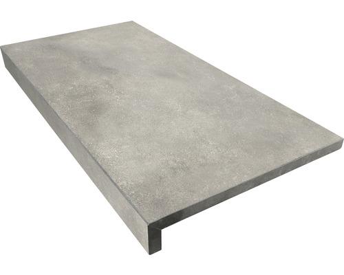 Bordure de piscine margelle gris béton 60 x 30 x 5 cm