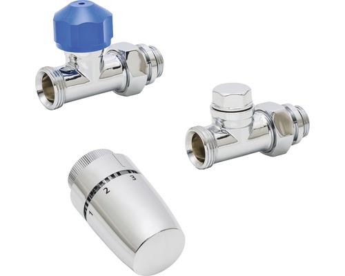"""Kit de robinet thermostatique Schulte passage 1/2"""" chrome 7063002"""