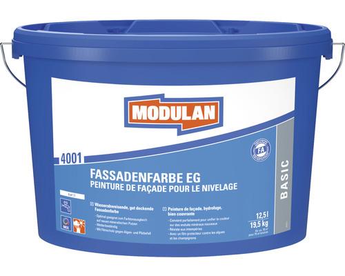 Peinture pour façade MODULAN EG 4001 blanc 12,5l