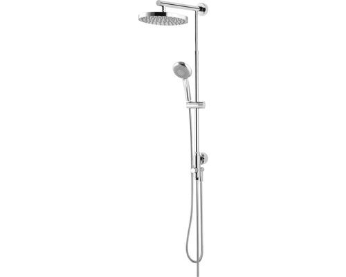 Duschsystem Schulte Classic DuschMaster Rain D9630 02 rund chrom mit Umsteller