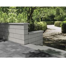 Mauerabdeckung Eleganca Grau 48x28x4-4,5cm-thumb-1