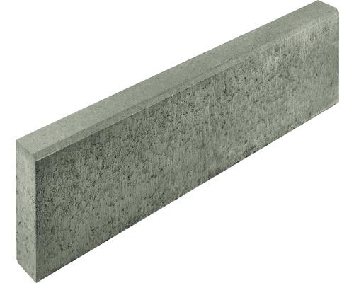 Bordure profonde grise 100x30x8cm