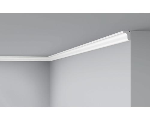Moulure de plafond D0 blanc 2 m lot de 2