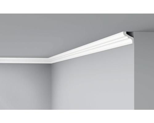 Moulure de plafond D3 blanc 2 m lot de 2