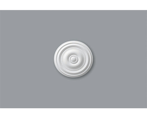 Rosace M75 blanc Ø 40 cm