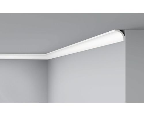 Moulure de plafond D5 blanc 2 m lot de 2