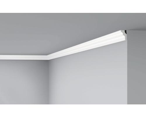 Moulure de plafond D2 blanc 2 m lot de 2