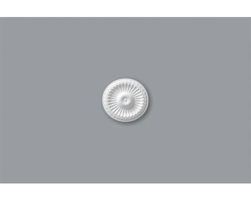 Rosette B18 blanc Ø 28cm