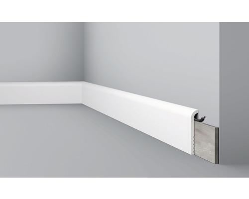 Baguette de recouvrement CBC 1 blanc 2,2x200cm