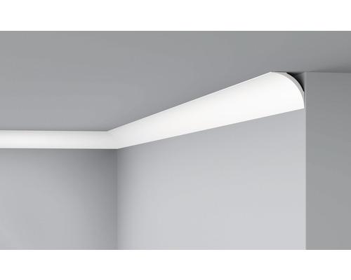 Moulure de plafond D 19 blanc 6x200cm