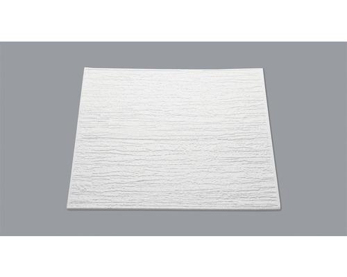 Dalle de plafond aspect crépi T80 blanc 50x50 cm pack de 8