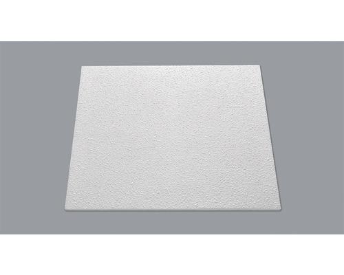 Dalle de plafond aspect crépi T148 blanc 50x50cm paquet de 8