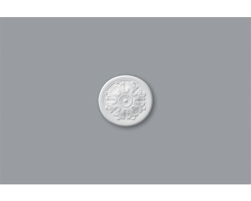 Rosace M63 blanc Ø 32,5 cm